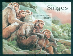 Guinee 1998 Monkeys MS MUH - Guinea (1958-...)