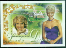 Guinee 1998 Princess Diana In Memoriam,  MS MUH - Guinea (1958-...)
