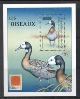 Guinee 2001 Birds, Philanippon, Duck MS MUH - Guinea (1958-...)
