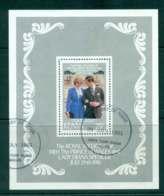 Kenya 1981 Charles & Diana Wedding MS FU Lot45055 - Kenya (1963-...)