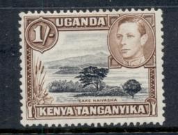 Kenya Uganda Tanganyika 1938-54 KGVI Pictorial Lake Nyassa 1/- Perf 13x11.5 MLH - Kenya (1963-...)