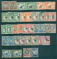 Kenya Uganda Tanganyika 1938-54 KGVI Pictorials Asst To 10/- MLH/FU Lot68303 - Kenya (1963-...)
