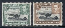 Kenya Uganda Tanganyika 1952 Royal Visit  MUH - Kenya (1963-...)