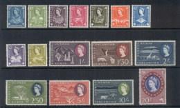 Kenya Uganda Tanganyika 1960 QEII Pictorials MLH - Kenya (1963-...)