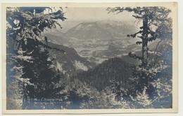 AK 0918287 Blick Von Gotzenalm Auf Untersberg Und Berchtesgaden  - U - Berchtesgaden