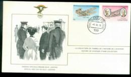 Lesotho 1978 History Of Aviation, FAI FDC Lot79556 - Lesotho (1966-...)