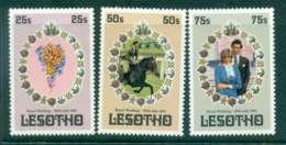 Lesotho 1981 Charles & Diana Wedding MUH Lot45073 - Lesotho (1966-...)