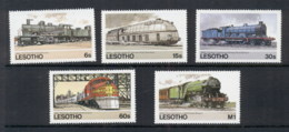 Lesotho 1984 Trains MUH - Lesotho (1966-...)