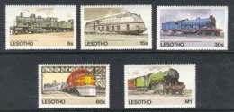 Lesotho 1984 Trains MUH Lot7787 - Lesotho (1966-...)