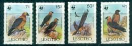 Lesotho 1986 WWF Birds, Lammergeier Vulture MUH - Lesotho (1966-...)