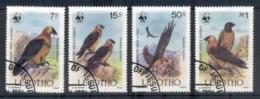 Lesotho 1986 WWF Lammergeiser FU - Lesotho (1966-...)