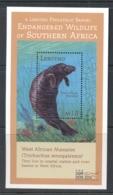Lesotho 2000 Endangered Wildlife, Manatee MS MUH - Lesotho (1966-...)