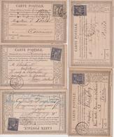 Lot De 22 Cartes Postales - Poststempel (Briefe)