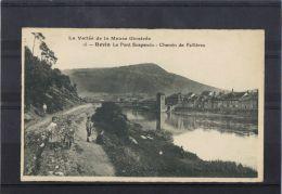 0804. REVIN LE PONT SUSPENDU Chemin Des Fallieres - Revin