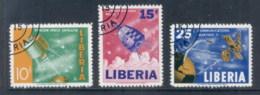 Liberia 1964 Space Communications Satellite CTO - Liberia