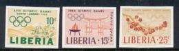 Liberia 1964 Summer Olympics Tokyo IMPERF MUH - Liberia