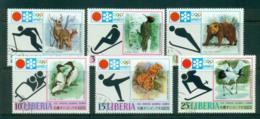 Liberia 1971 Winter Olympics Sapporo CTO Lot56759 - Liberia