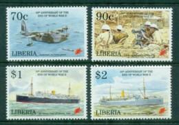 Liberia 1995 End Of WWII 50th Anniv. MUH - Liberia