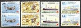 Liberia 1995 End Of WWII Pairs MUH Lot3691 - Liberia