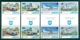 Liberia 1995 UN 50th Anniv. Gutter Pr MUH - Liberia