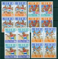 Liberia 1996 Modern Olympic Games Centenary Blk4 MUH - Liberia