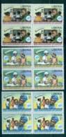 Liberia 1996 UNICEF 50th Anniv Blk 4 MUH - Liberia