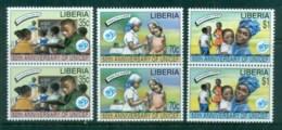 Liberia 1996 UNICEF 50th Anniv Pr MUH - Liberia