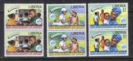 Liberia 1996 UNICEF Pairs MUH Lot3694 - Liberia