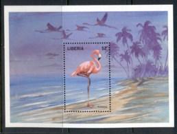 Liberia 1998 Bird, Flamingo MS MUH - Liberia