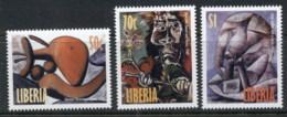 Liberia 1998 Picasso Paintings MUH - Liberia