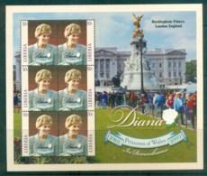 Liberia 1998 Princess Diana In Memoriam MS MUH Lot82021 - Liberia