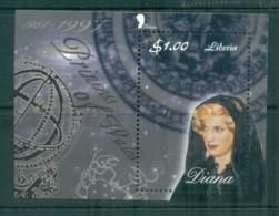 Liberia 1998 Princess Diana In Memoriam MS MUH Lot82052 - Liberia