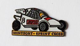 Pin's Voiture Sprint Cross Montfort  Sur Meu Ille Et Vilaine - 35R - Villes