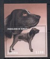 Liberia 1999 Dogs MS MUH - Liberia