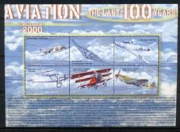 Liberia 2000 Aviation Sheetlet MUH - Liberia