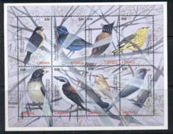 Liberia 2000 Birds Sheetlet $20 MUH - Liberia