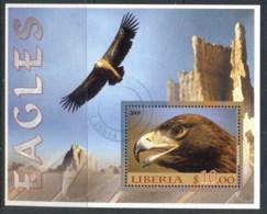 Liberia 2005 Birds, Eagles NS CTO - Liberia