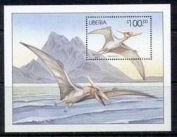 Liberia 2005 Prehistoric Animals, Dinosaurs MS MUH - Liberia