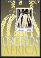 Liberia 2007 Flowers, Orchids Of Africa MS MUH - Liberia