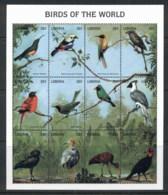 Liberia 2007c. Birds MS MUH - Liberia