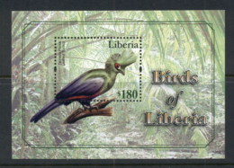 Liberia 2010 Birds Of Liberia MS MUH - Liberia