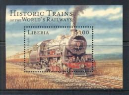 Liberia 2010c. Trains MS MUH - Liberia