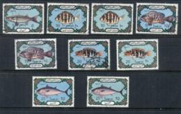Libya 1973-75 Marine Life Fish Asst. FU - Libya