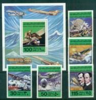 Libya 1978 Aviation + 1xMS MUH Lot81690 - Libya