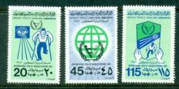 Libya 1981 Intl. Year Of The Disabled MUH - Libya