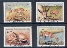 Libya 1987 WWF Slender Horned Gazelle - Libya