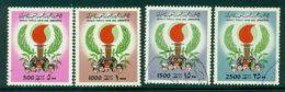 Libya 1987/83 500,1000,1500,2500d Torch FU Lot25168 - Libya