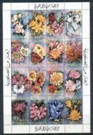 Libya 1989 Flowers Sheetlet MUH - Libya
