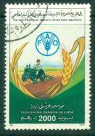 Libya 1990 2000d FAO FU Lot25171 - Libya