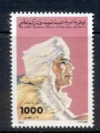 Libya 1992 Khadafy 1000d MUH - Libya